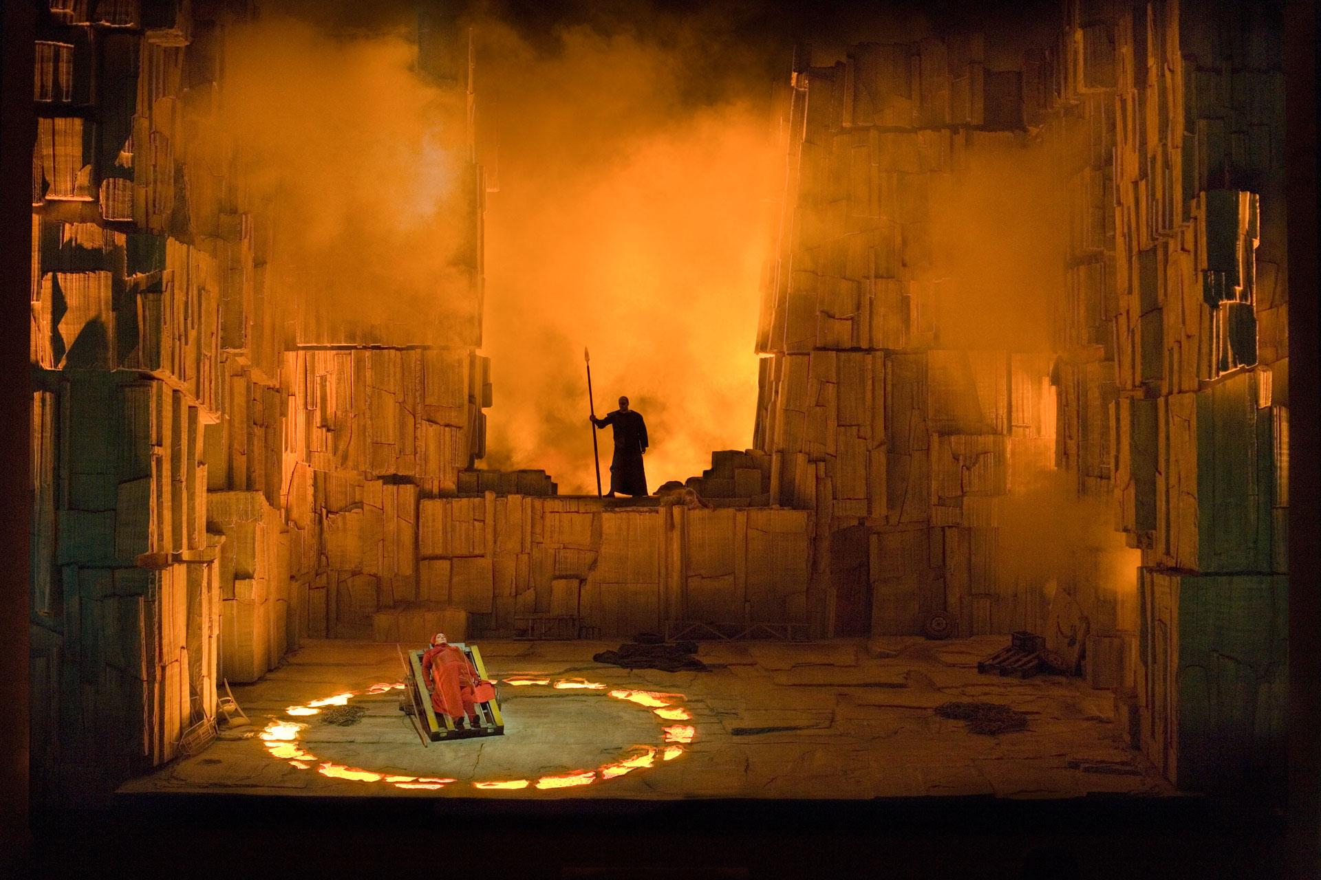 Theaterfotografie, Oper, Walküre, Bayreuther Festspiele